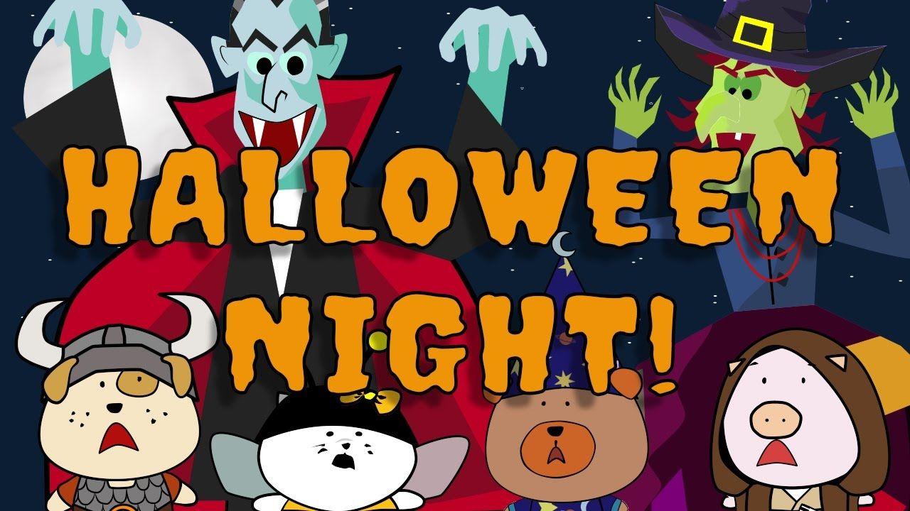 Kids Halloween Songs Halloween Night The Singing Walrus Kids Halloween Songs Halloween Songs Kids Songs