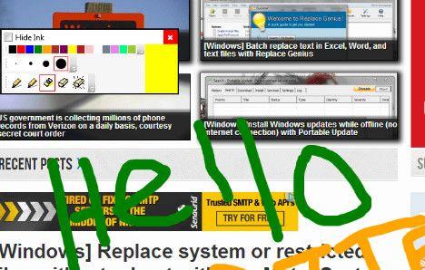 Epic Pen Masaüstü Windows çizim Ve Boyama Programı Program Ve