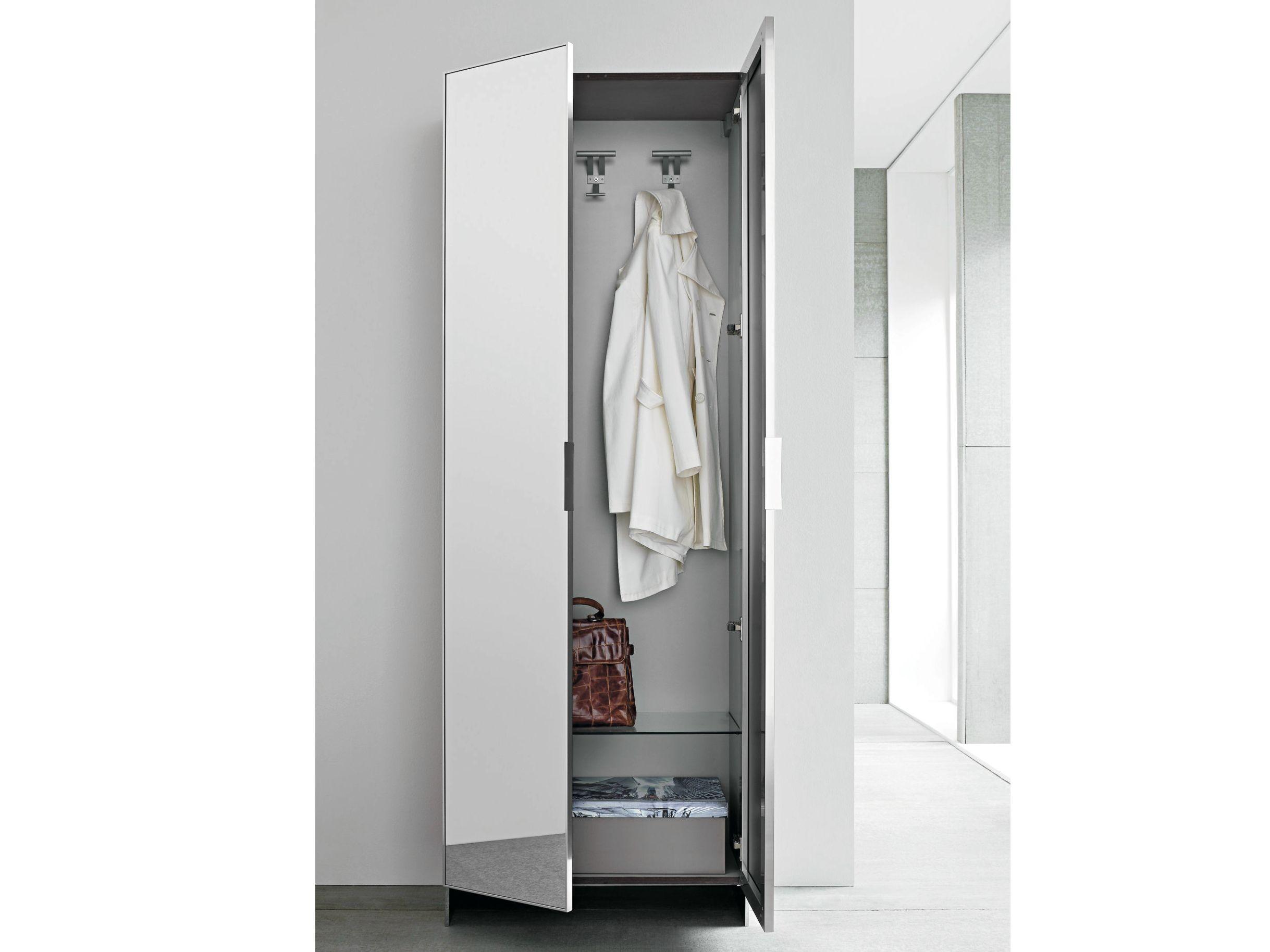 Mirrored wardrobe slim slim collection by birex