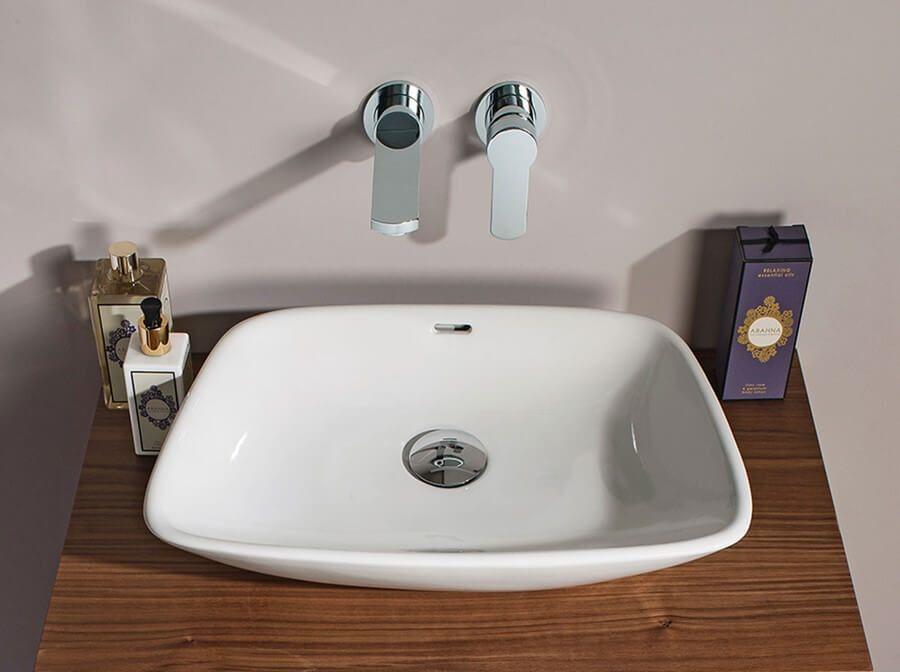 Crosswater bauhaus anabel 500 x 360mm countertop basin