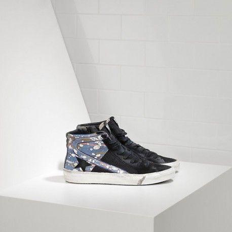 537 Golden Goose 2.12 Hi Couples Zapatos Negro Azul Baratos sopie shop #go online to #clearance sale
