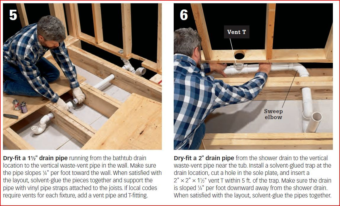 Image Result For How To Install Shower Plumbing
