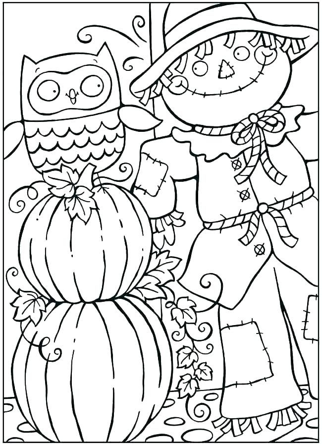 Printable Fall Coloring Pages Ideas To Kill Your Time