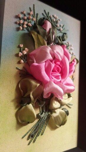 Роза в подарок.