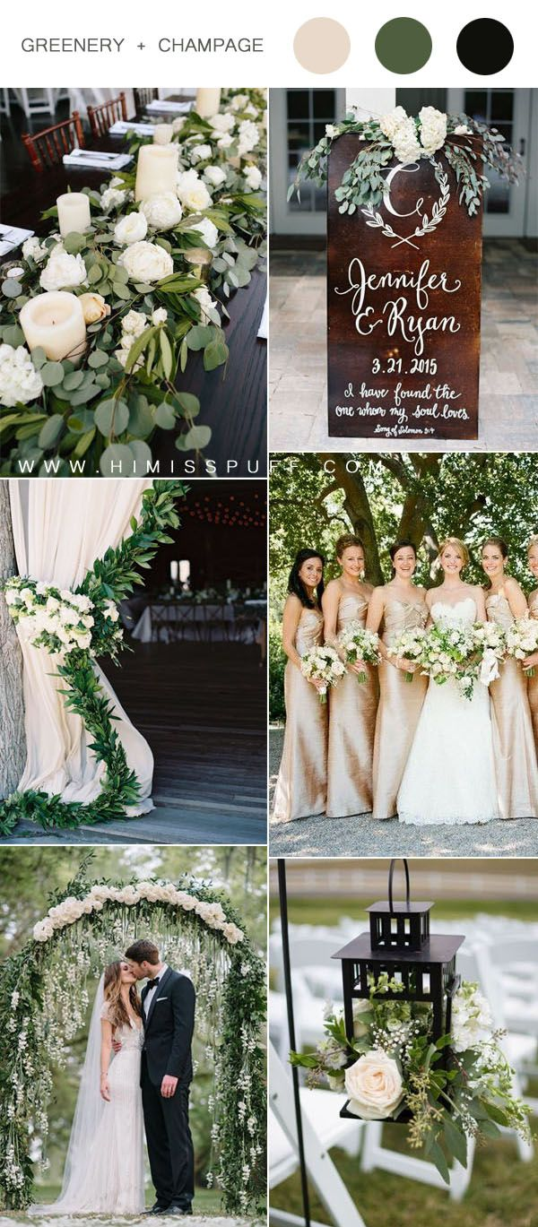 Top 9 Green Wedding Color Scheme Ideas For 2020 Trends You Ll Love Wedding Theme Colors Summer Wedding Colors Green Wedding Colors