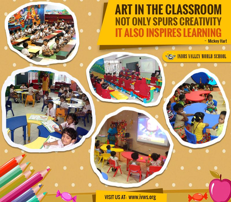 Art Craft Classes Are Conducted At Ivws To Spur Creativity And