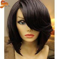 Short Bob Wigs For Black Women Brazilian Full Lace Human Hair Bob Wigs With…