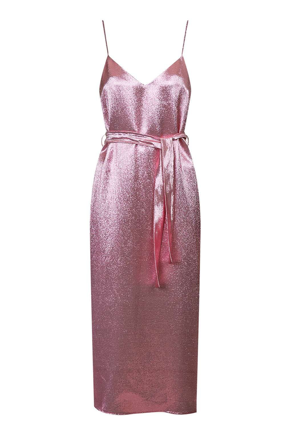 Layered Lamé Panel Dress By Boutique  New In Dresses  New In