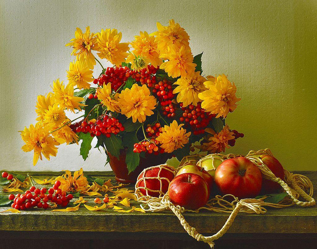 Открытка осень золотая добрый день, праздники картинки прикольные