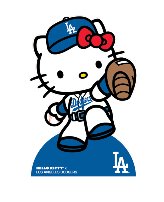 """bba9d2dd8 Hello Kitty """"Special offer: All @hellokitty merchandise at Dodger Stadium  is 20%"""