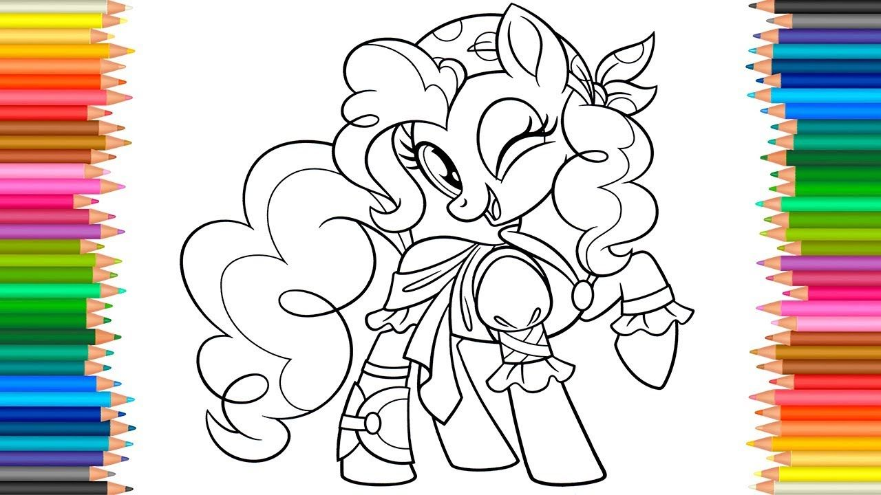 My Little Pony The Movie Coloring Pages Coloring Book Videos For Childr Remesla