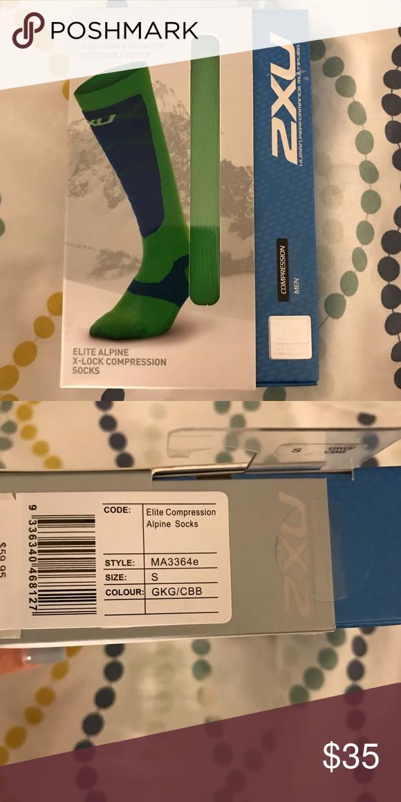 d2f55b32c6 NIB 2XU Men's Elite Alpine X-Lock Compression Product description Modeled  off the already proven