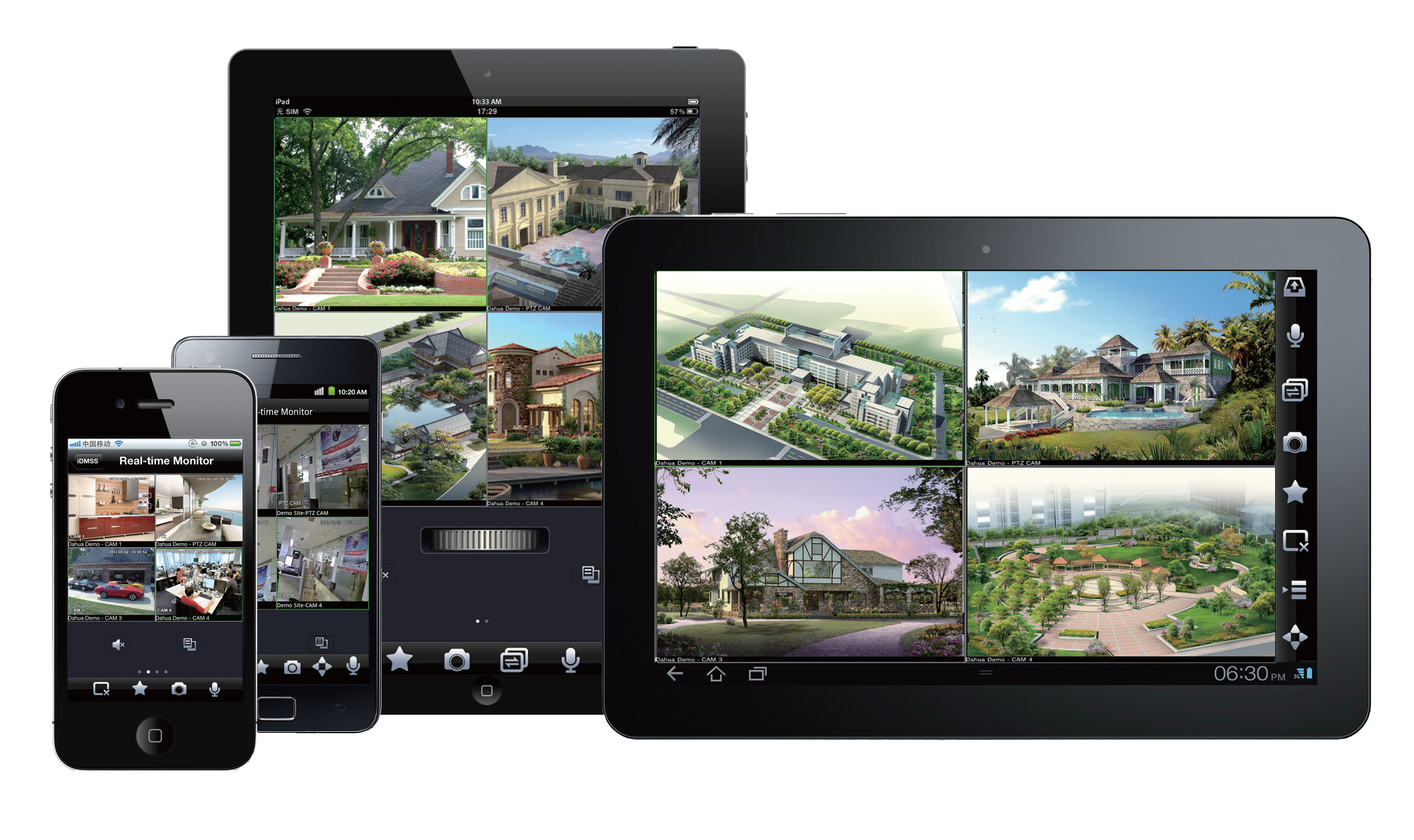 View your CCTV cameras on any device Interface Audio Video