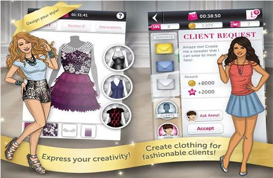 Top Android Apps For Fashion Designers The Android World Is Full Of Useful And Productive Apps This Store Consists Of Many Apps Which Can Fashion Designing Apps Virtual Fashion Fashion