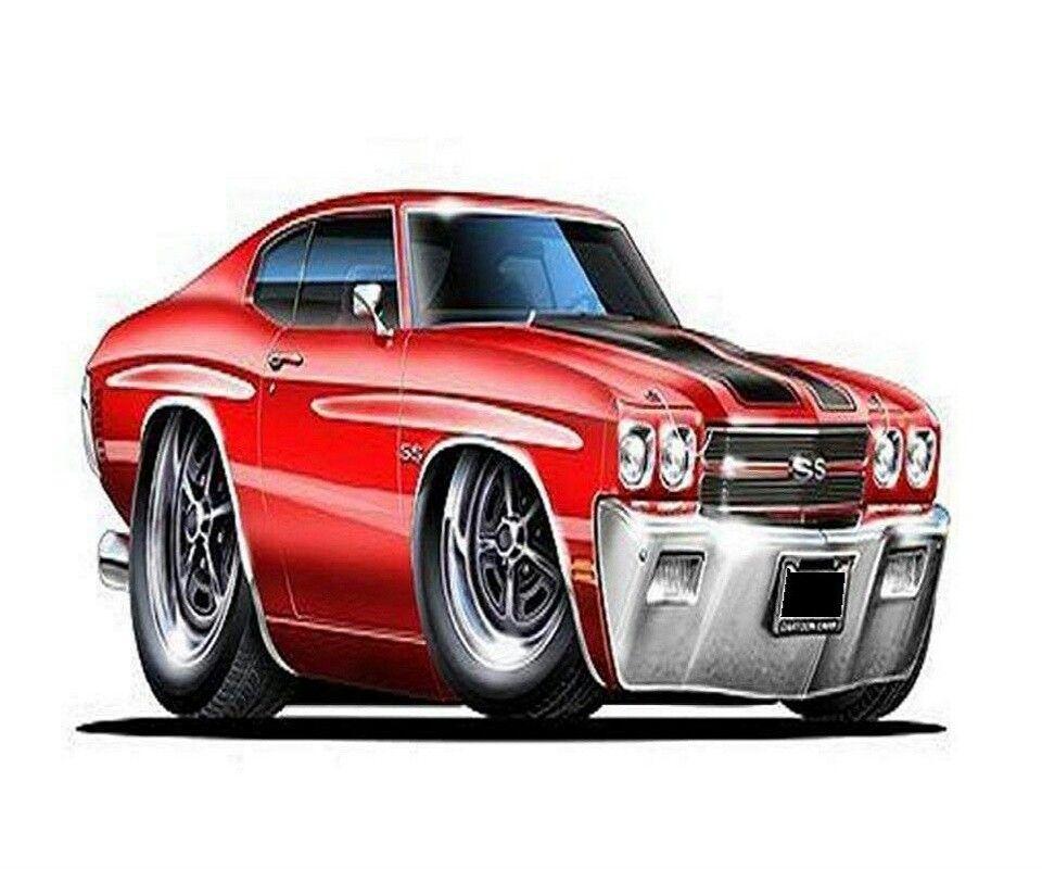 247dbbf7c Cartoon 1970 Chevelle | cars | Car drawings, Chevelle SS, Art cars