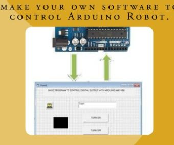 Control Arduino With Visual Basic 6 0 | Arduino
