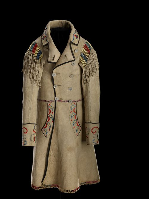 Man's Coat Cree Métis, 1874 The National Museum of the ...