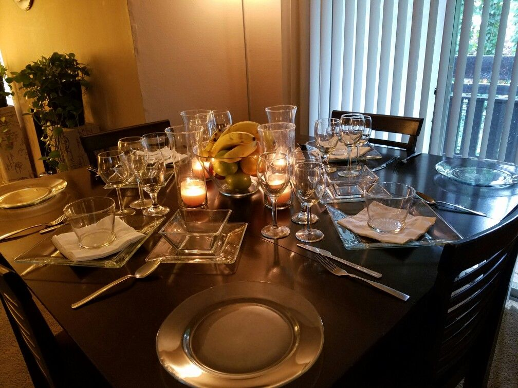 Brunch Setup Dining Room Dining Table Settings
