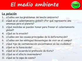 Recursos para profesores de español: A2. Speaking - Juego de preguntas