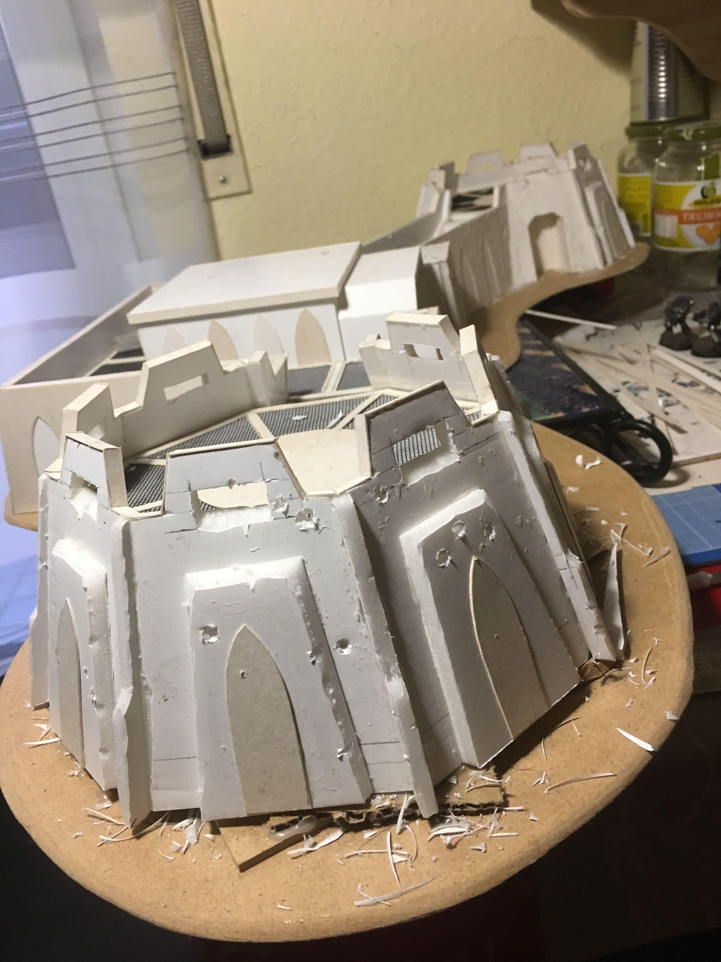 DIY game terrian and building | Game: Sci-fi models