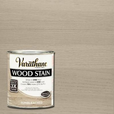 Varathane 1 qt sun bleached 3x wood stain 2 pack 266156 - Interior wood stain colors home depot ...