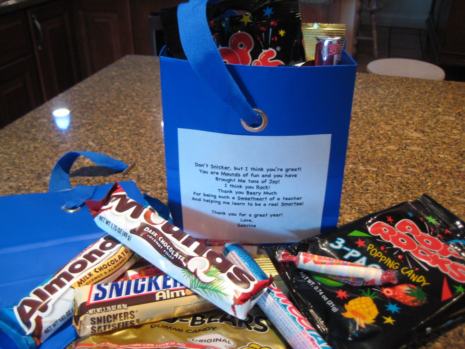 cheap valentines day gift baskets teacher gift idea a candy gram i made one for