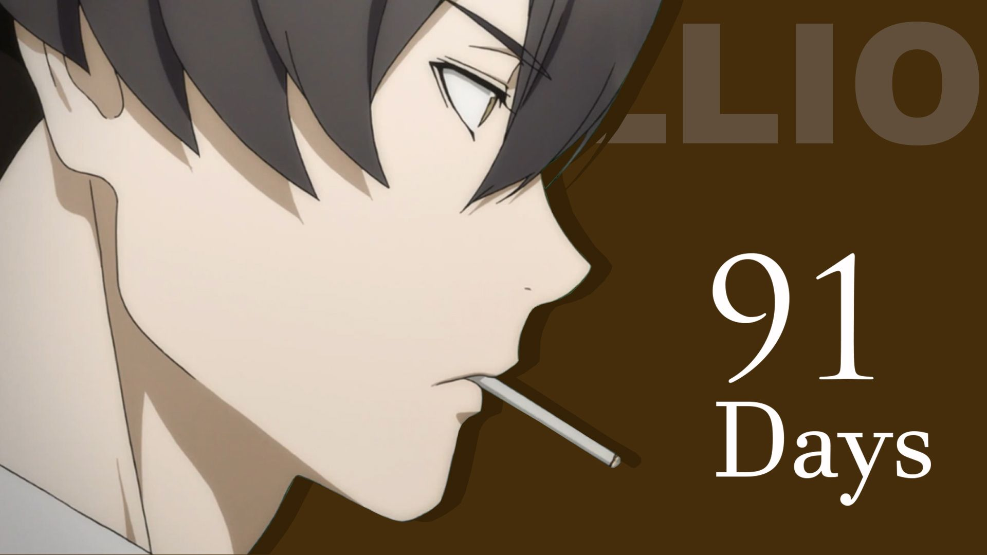 Anime 91 Days Best Wallpaper 91 Days Anime Weird Words