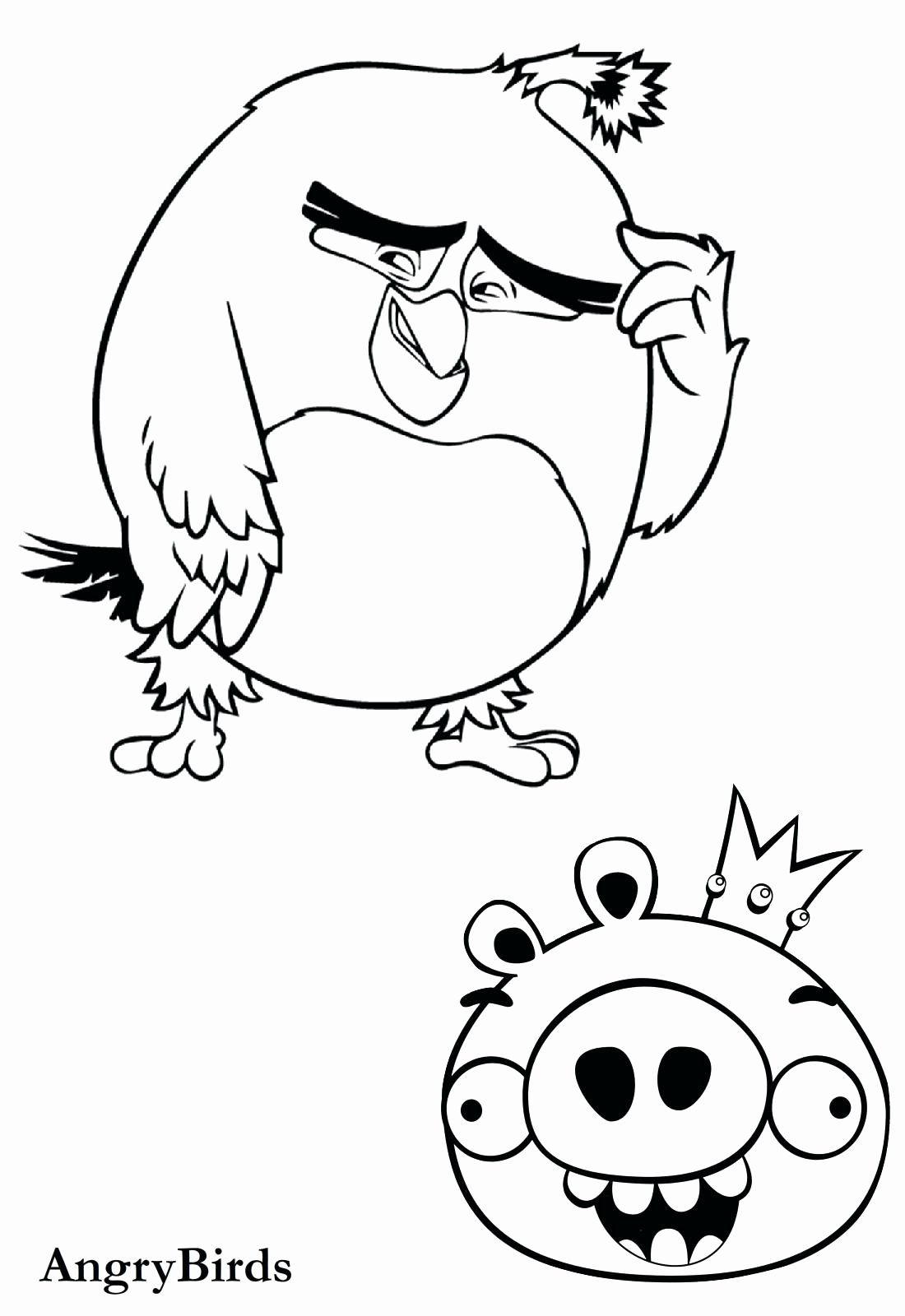 Bad Piggies Coloring Pages Best Of Star Wars Angry Birds Coloring Pages Sheets Pig In 2020 Bird Coloring Pages Cartoon Coloring Pages Animal Coloring Pages