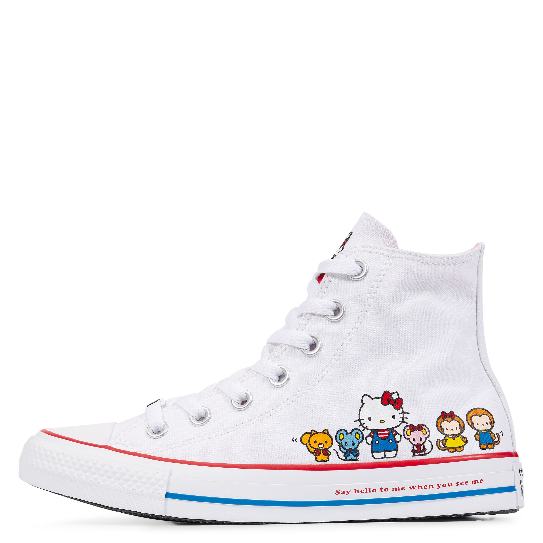ed6b6e8078de Converse x Hello Kitty Chuck Taylor All Star White Prism Pink White ...