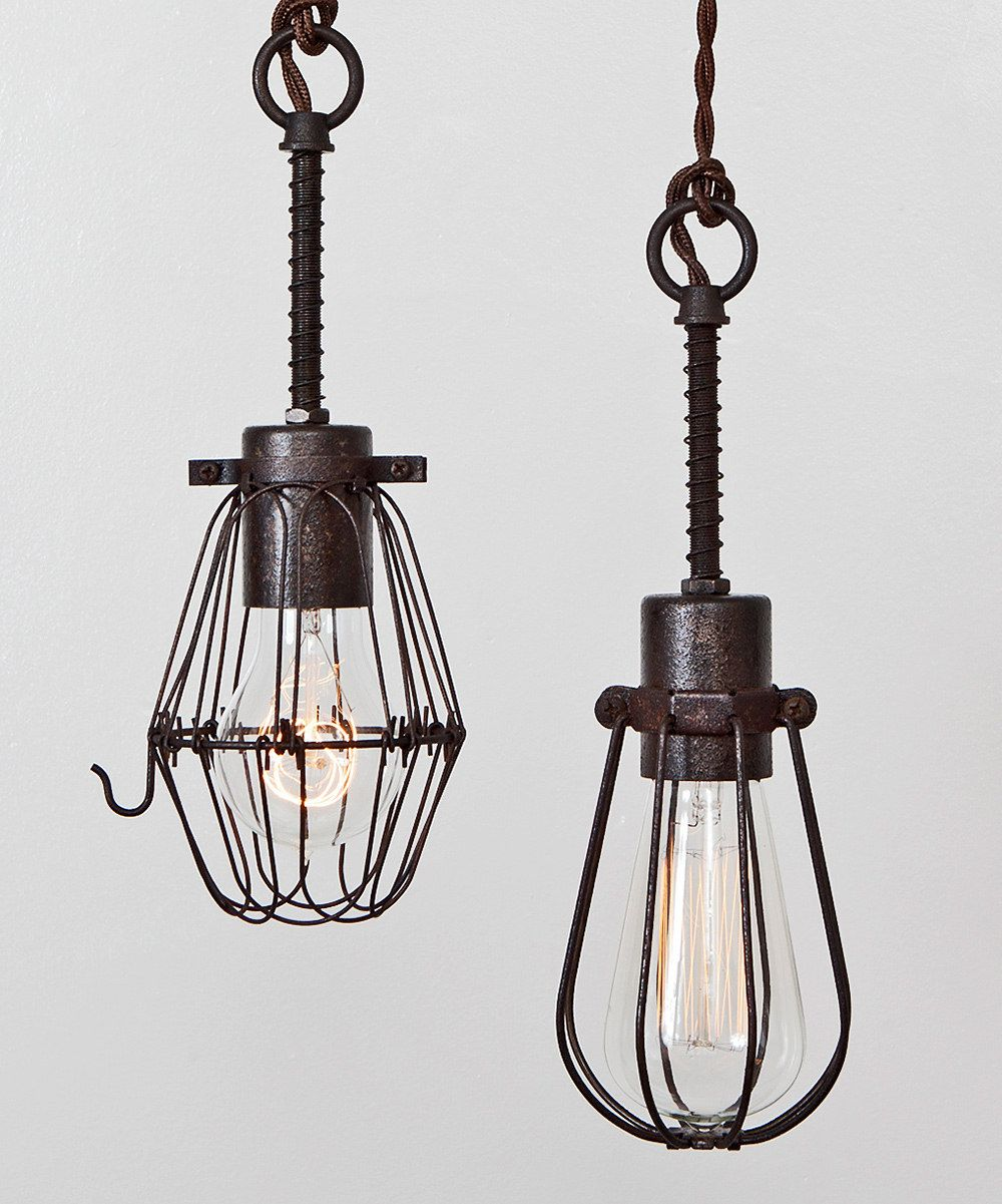 Oval Cage Pendant Lamp | Daily deals for moms, babies and kids ...