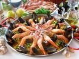 Paella de Frutos do Mar.