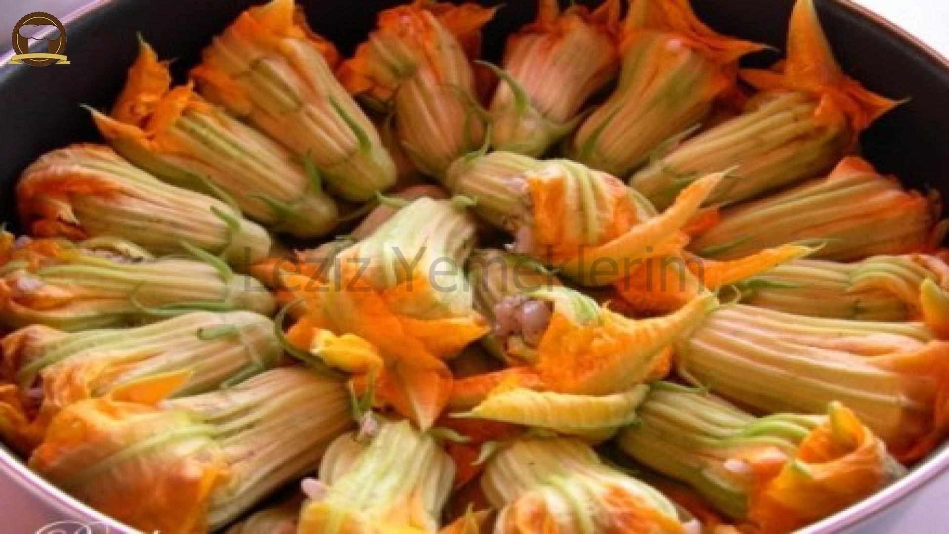 Bulgurlu Kabak Çiçeği Dolması Tarifi