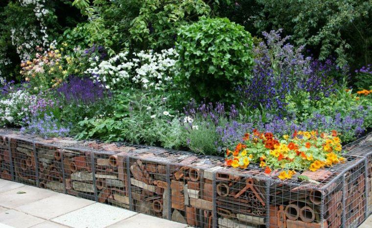 diseno gaviones tejas vienjas Proyectos que debo intentar - diseo de jardines urbanos