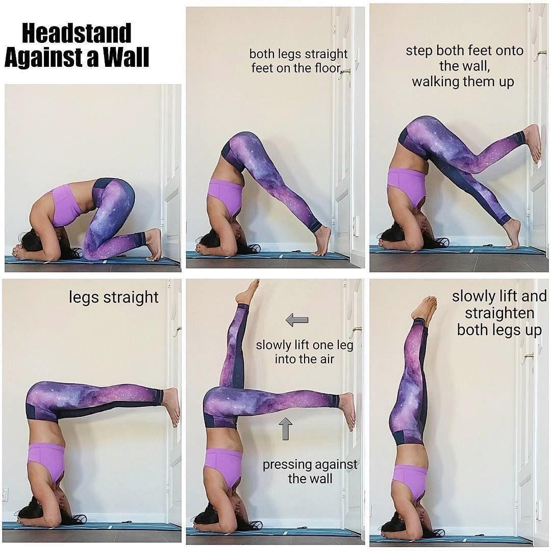 With Yoga You Ll Sleep Like A Baby At Night Headstand Yoga Ashtanga Yoga Yoga Help
