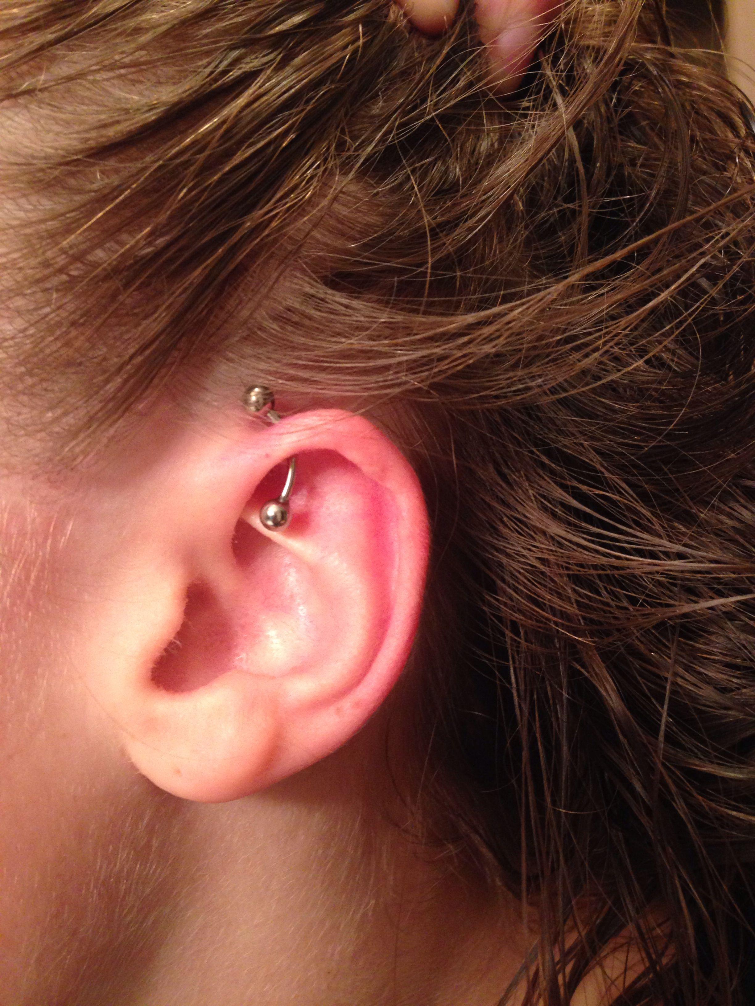 2nd ear piercing ideas  Helix ear piercing  My obessions  Pinterest  Helix ear piercing