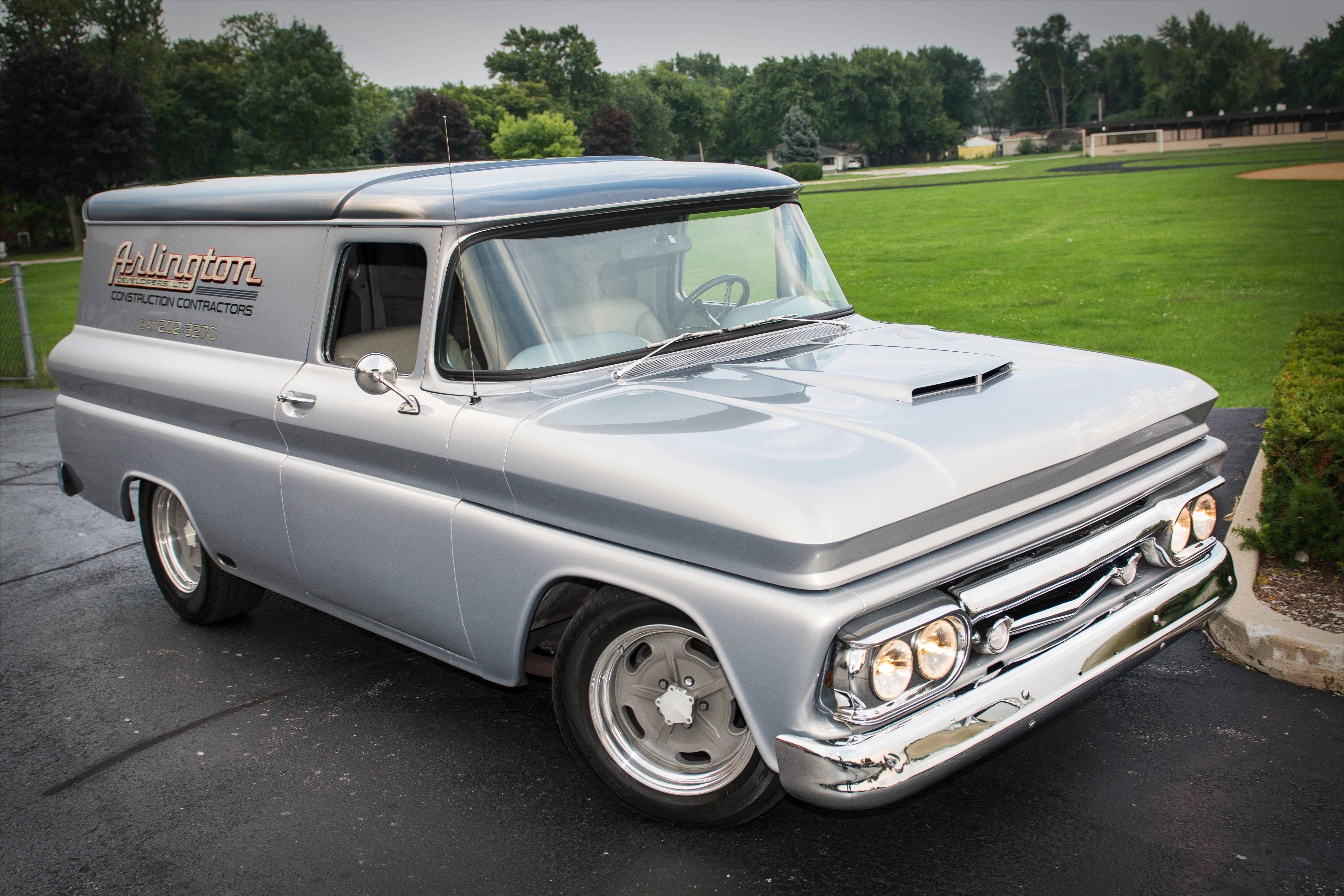 1962 Chevrolet Panel Truck Remains On The Job