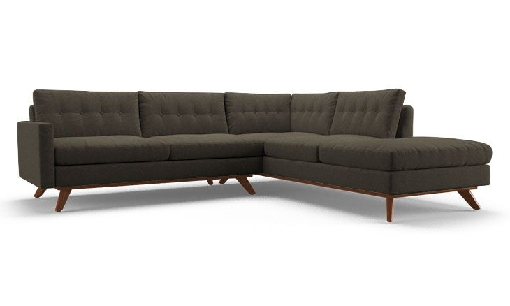 Hopson Sectional with Bumper (2 piece)