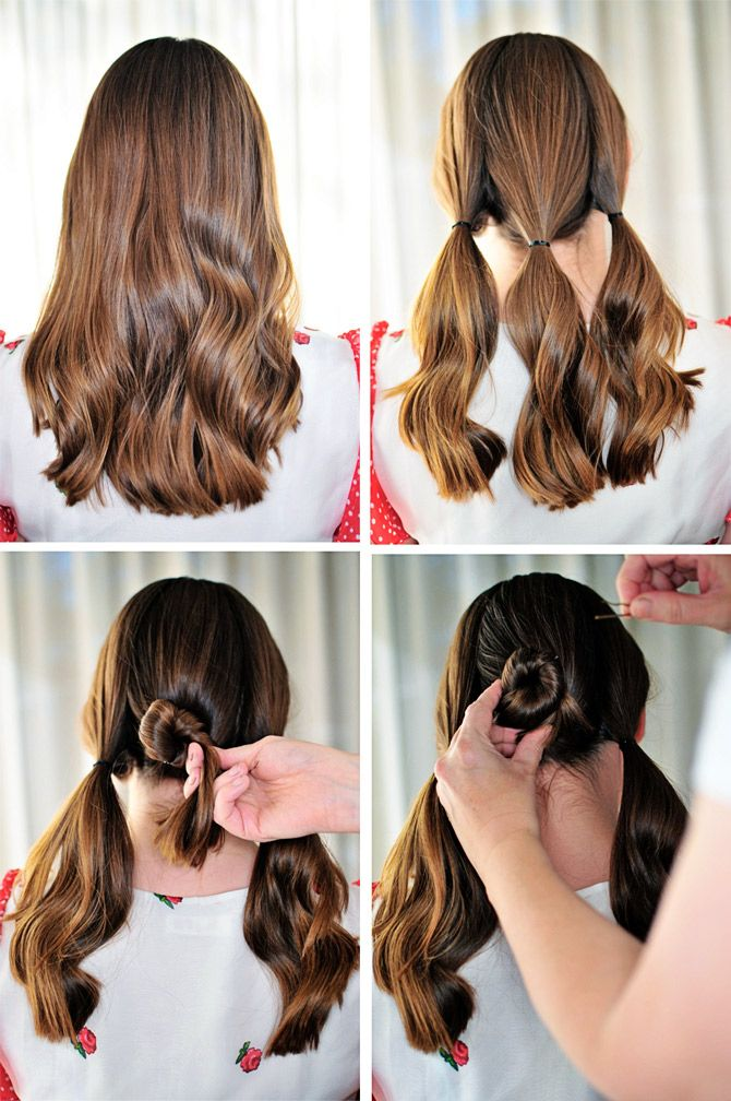 Hairstyles For Long Hair Step By Step Instructions Google Search