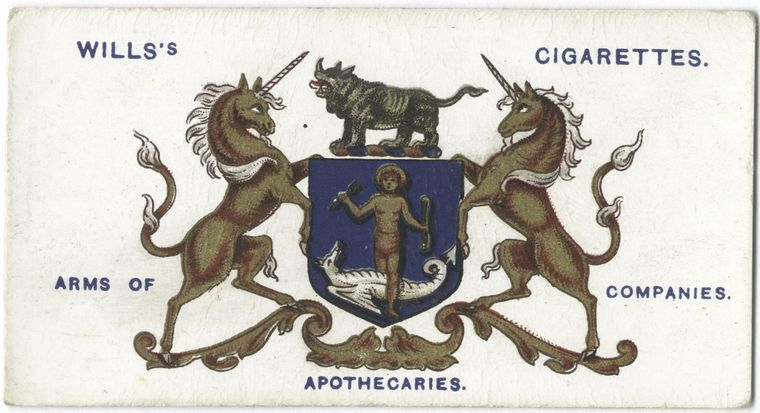 Pin on cigarette Box ad