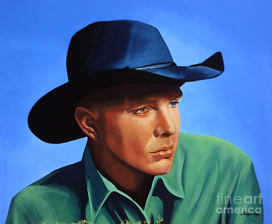 Garth Brooks Christmas Album.Garth Brooks By Paul Meijering Famous People By Different Artists