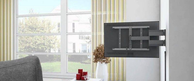 Fixer son écran TV au mur salon Pinterest Sons and TVs - comment fixer un meuble au mur