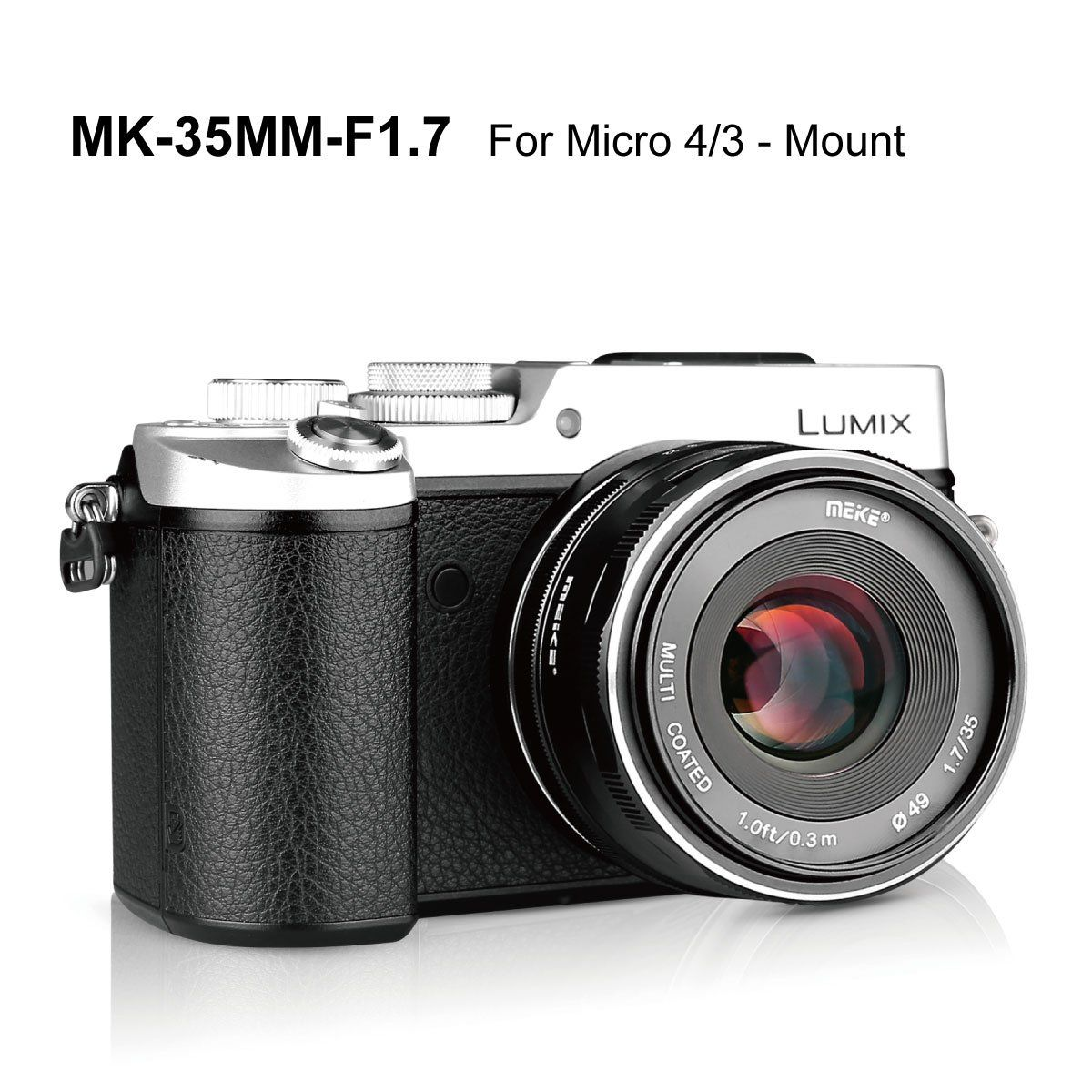Meike 35mm F1 7 Manual Focus Prime Lens For Micro Four Thirds Mft M4 3 Olympus And Panasonic Digital Mirro Mirrorless Camera Prime Lens Cameras And Accessories