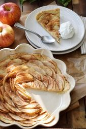 Autumn Soul Food A quick favorite recipe for apple tart  Kaffeekränzchen