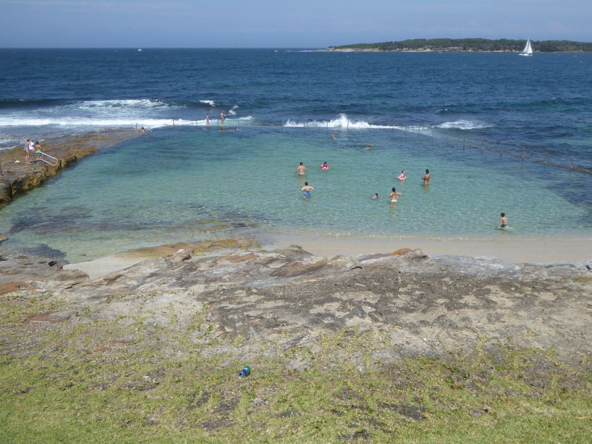 Oak Park Rock Pool near Cronulla