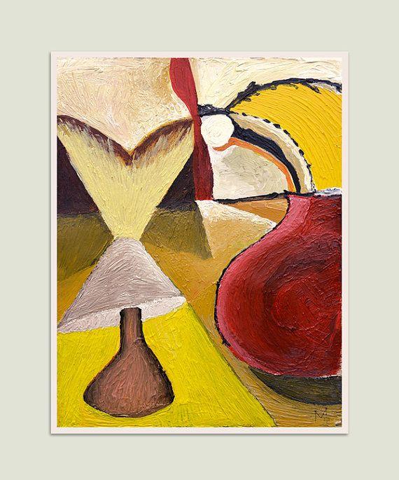 Modern still life Art, Wall still life Art , Fine Art, Abstract ...