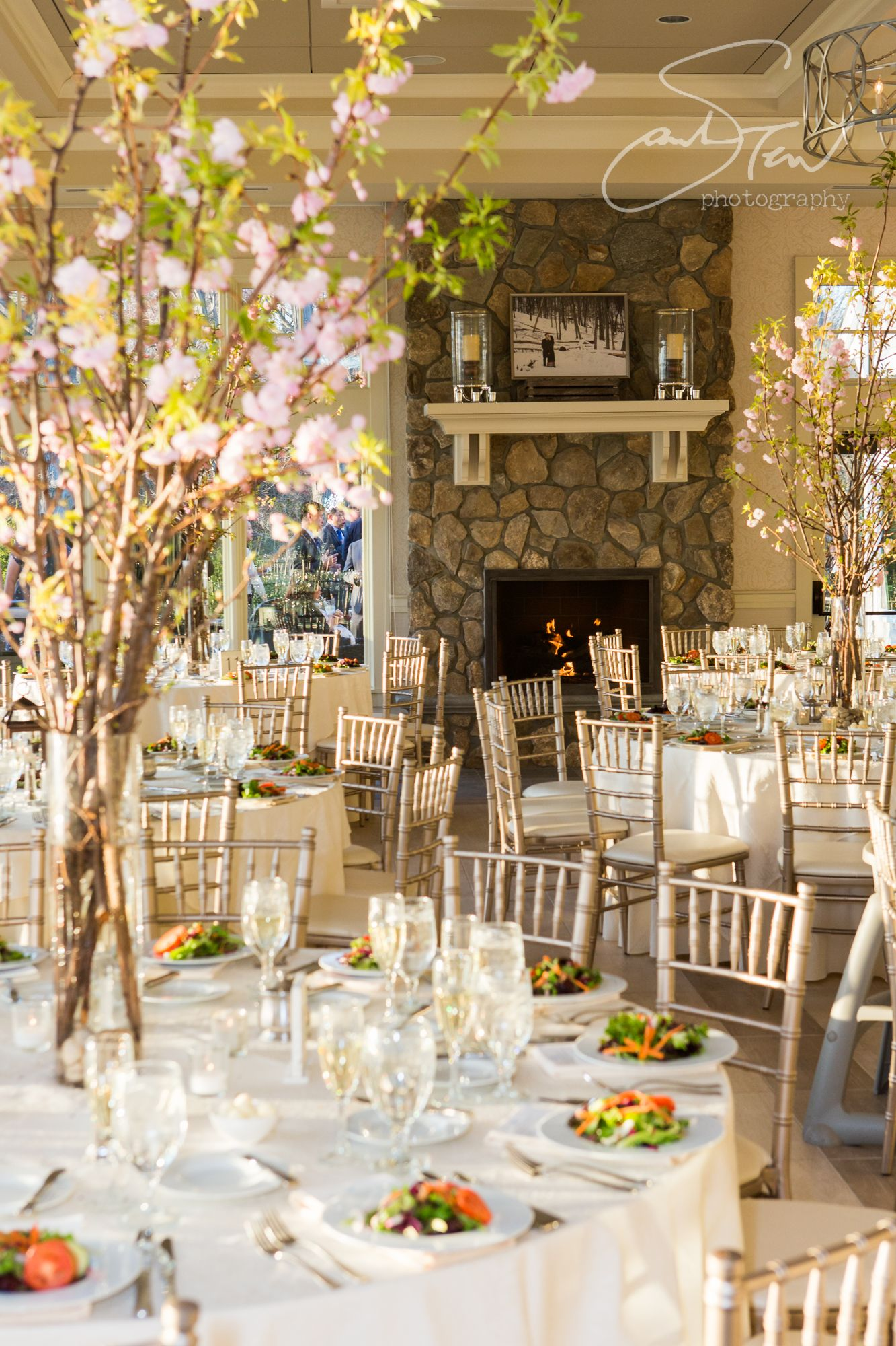 April wedding at Indian Trail club in New Jersey © Sarah