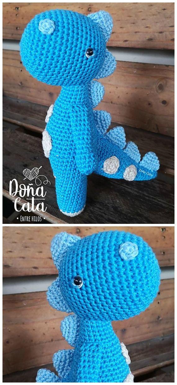 Pattern Arlo, Disney Pixar's The Good Dinosaur, Amigurumi Crochet ... | 1240x570