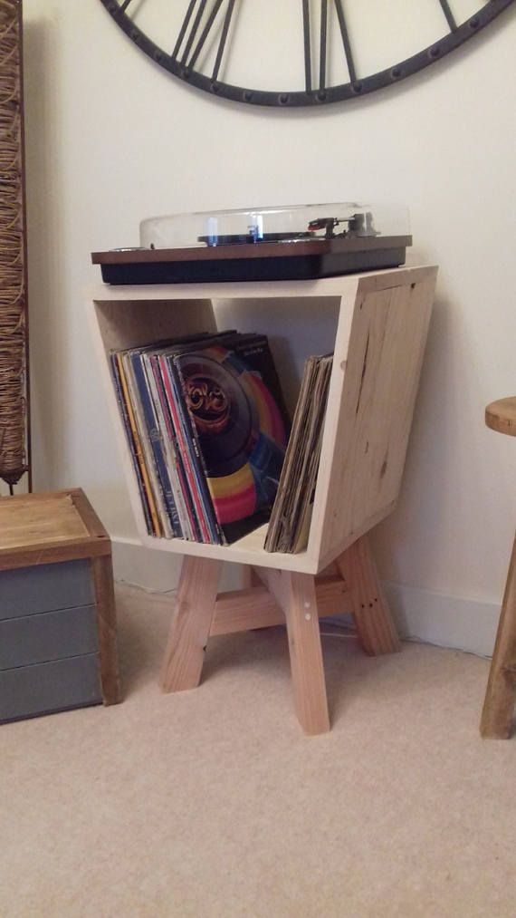 Record Player Turntable Stand Vinyl Storage Turntable Stand