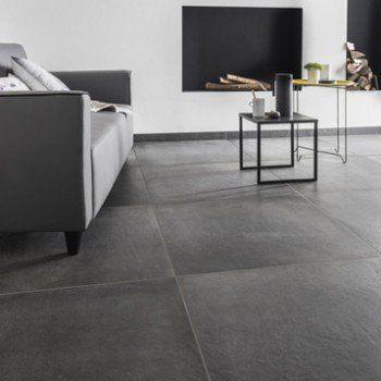 Leroy Merlin Beton Excellent Carrelage Sol Et Mur Anthracite Effet - Carrelage beton