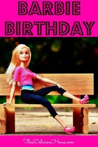 Barbie Birthday Party  Save Money and Time is part of Birthday Party Clothes - If you're looking for a great birthday theme for your daughter, a Barbie birthday is the way to go! Check out these great finds for a Barbie birthday party!